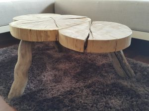 Unikat lesena mizica